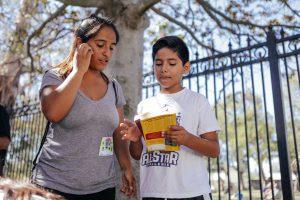 Non Profit Teen Literacy Program Reading Graphic